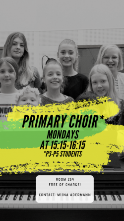Primary Choir