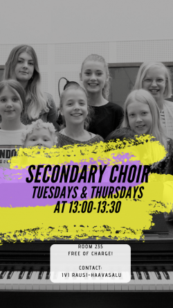 Secondary Choir